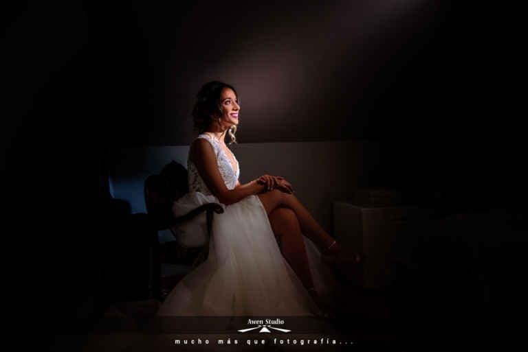Fotografía preparativos boda novia