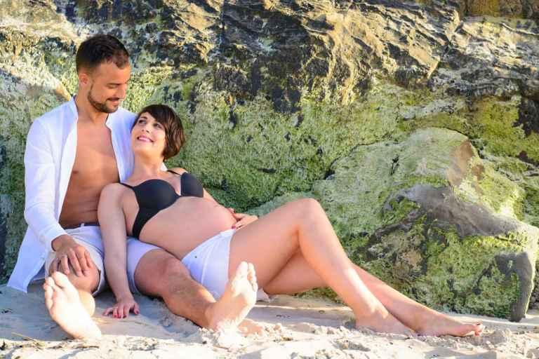 Fotografía embarazo Coruña