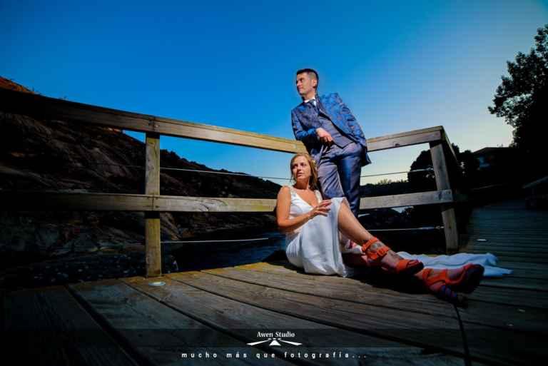 Fotógrafos boda Ezaro